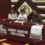 Lewis Signs to play at Morningside College
