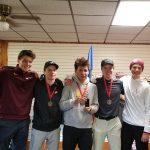 Boys Golf takes 1st at Cuyuna