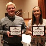 Rydberg, Eigenheer named Senior Athletes of the Year