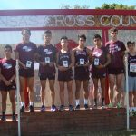 Lockhart High School Boys Varsity Cross Country finishes 1st place