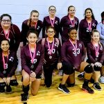 Lockhart Girls 8th Grade Volleyball B beat Cedar Creek, Manor 4-1