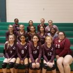 Lockhart Girls 8th Grade Volleyball B beat Bastrop High School 2-0