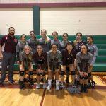 Lockhart Girls 8th Grade Volleyball A beat Bastrop 2-1