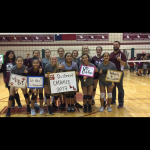 Lockhart Girls 8th Grade Volleyball A beat Ojeda 2-0