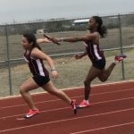 Girls Varsity Track finishes 3rd place at Savio
