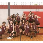 Girls 7th Grade Volleyball B vs Manor