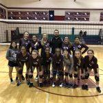 Girls 8th Grade Volleyball A beats Dailey
