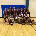 Girls 7th Grade Volleyball A beats Dailey 25 – 18