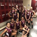 Girls 7th Grade Volleyball B beats Dailey