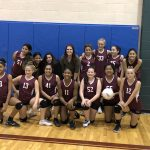 Girls 7th Grade Volleyball A beats Del Valle 27 – 25