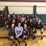 Girls 8th Grade Volleyball B beats Del Valle 2 – 0