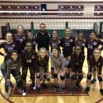 Girls 8th Grade Volleyball A beats Del Valle