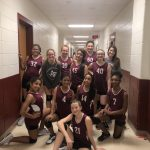 Girls 7th Grade Volleyball B beats Bastrop