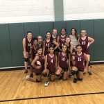 Girls 7th Grade Volleyball B beats Ojeda