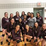 Girls 8th Grade Volleyball B beats Ojeda 2 – 0
