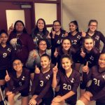 Girls 8th Grade Volleyball B beats Manor New Tech 2 – 0