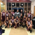 Girls 7th Grade Basketball B beats Cedar Creek 22 – 14
