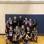 Girls 8th Grade Basketball A falls to Cedar Creek