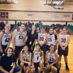 Girls 8th Grade Basketball B beats Manor 22 – 9