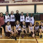 Girls 8th Grade Basketball A beats Manor NT 21 – 20