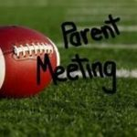 Jr High Football Parent Meeting Tues. 8/20