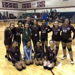 Girls 8th Grade Volleyball A beats Del Valle 2 – 0