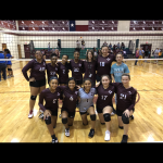 Girls 8th Grade Volleyball A beats Dailey 2 – 0