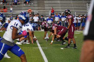 Varsity Football vs SA Memorial 9/27/19