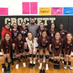 Freshman Volleyball beats Crockett 2 – 1