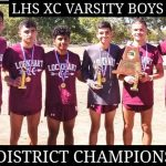 Boys Varsity Cross Country wins District 25-AAAAA Championship
