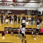 Varsity Volleyball Sweeps Juan Navarro on Senior Night