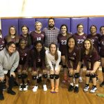 Girls Freshman Volleyball A beats Lbj 2 – 0