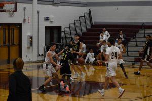 JV Boys Basketball vs Crockett 1/21/20