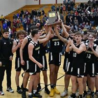 Sectional Champs, Boys Basketball, 2020