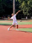 Boys tennis beats Prairie Heights
