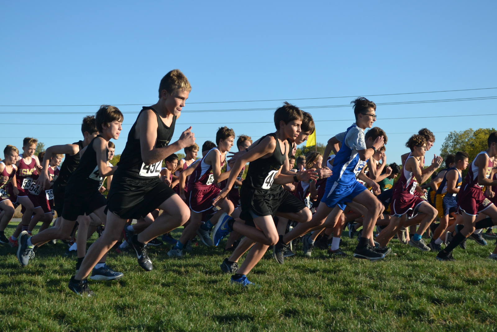 JH XC Whitley County Meet