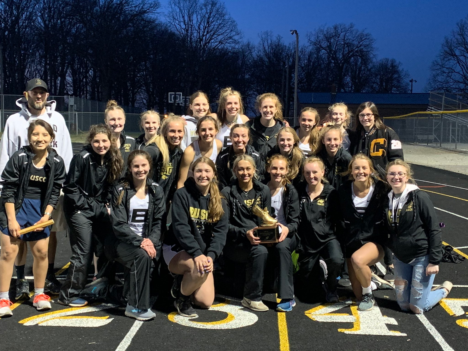 Girls Varsity Track claims 2021 Eel River Rivalry Championship