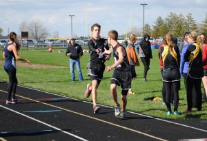 Varsity Track vs Pioneer @ Lewis Cass