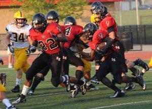 Varsity Football 8/30/12
