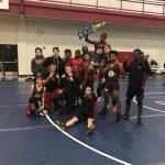 Coed Varsity Wrestling finishes 1st place at Cardinal Invitational@Big Rapids