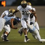 Abilene High School Varsity Football beat LD Bell High School 44-14