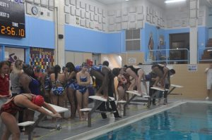 MSB Girls Swimming vs Affton