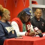Brandon Tiassum signs to Notre Dame Football