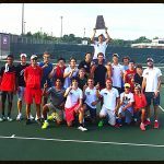 Park Tudor School Boys Varsity Tennis beat North Central High School (Indianapolis)  3-2