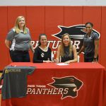 Abbi Plewes Signing Letter of Intent
