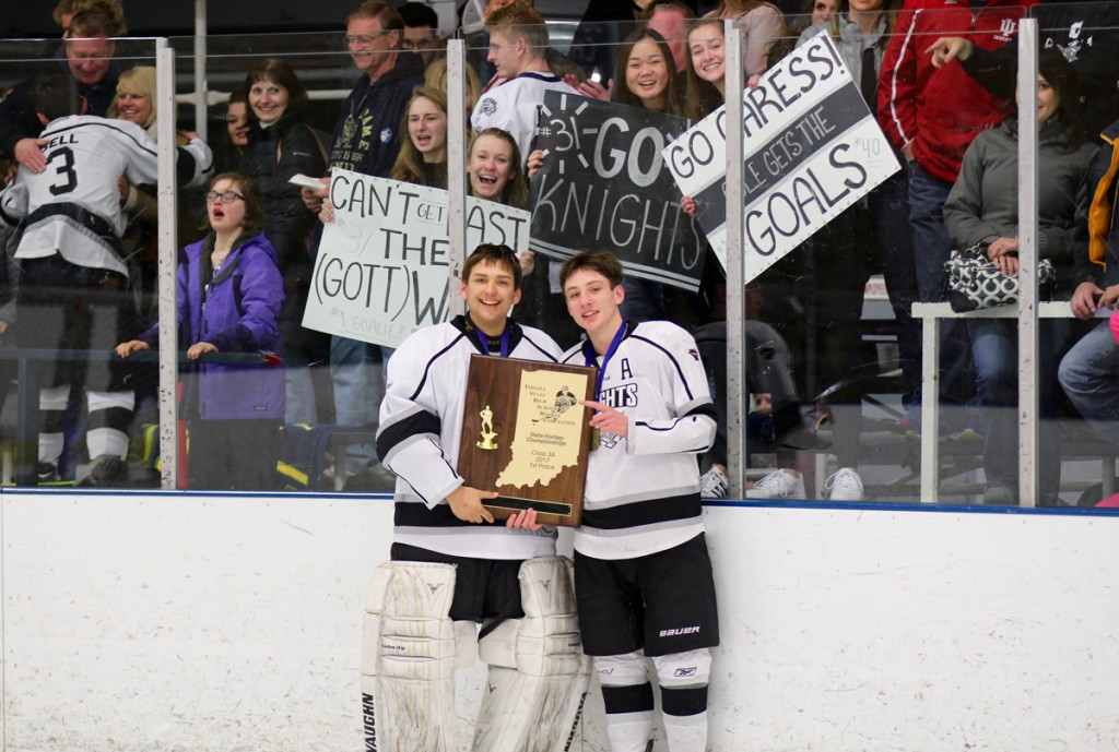 Central Indiana Knights Hockey Club Heads to State Championship