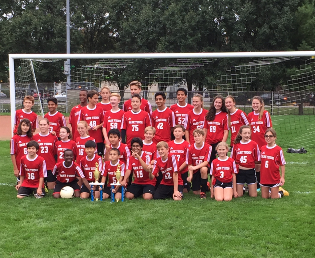 7/8 Coed Soccer Team Wins IISL Tournament!