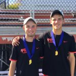 Drew Wiegel and Will Emhardt, Park Tudor Boys Tennis Doubles State Champions