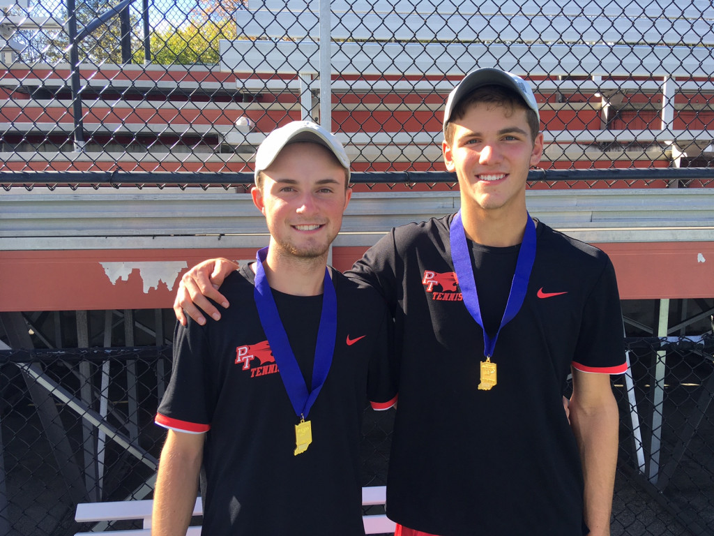 Drew Wiegel and Will Emhardt Win Doubles State Championship