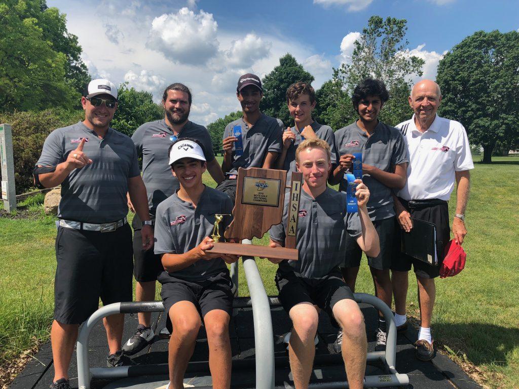 Park Tudor Boys Golf Sectional Champions